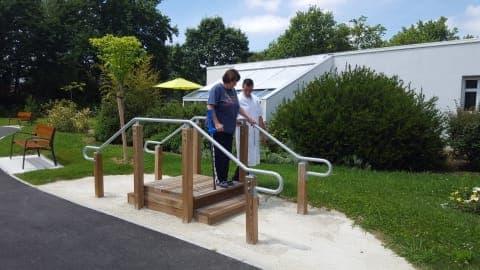 Parcours de santé de la Clinique SSR CLINEA Les Jeunes Chenes à Pau