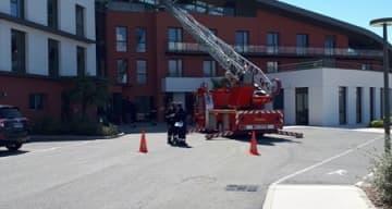 Orpea Clinique la Chenevière pompiers