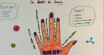 orpea clinea Lautréamont hygiène mains