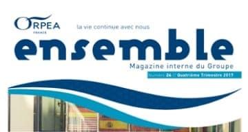 magazine interne ORPEA CLINEA 4ème trimestre 2017