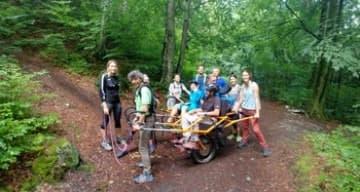 CLINEA Sancellemoz au Trail des Fiz