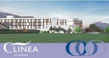 CLINEA construit une clinique SSR a Cluses