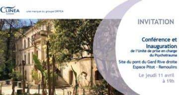 conference CLINEA sur le psychotrauma clinique du Pont du Gard
